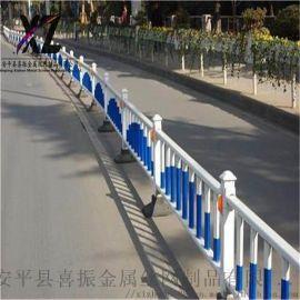 反光条道路护栏 道路中央隔离栅 道路防撞市政护栏