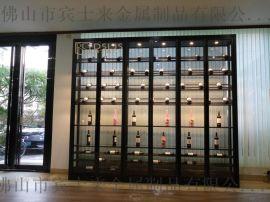 佛山酒店家用紅酒櫃,別墅304不鏽鋼酒窖定制廠家