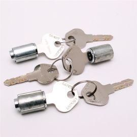 定制锁芯 来图定做5号锌锁芯 单开叶片工程安全锁具