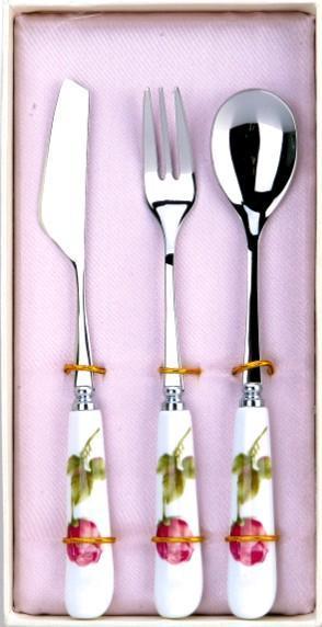 陶瓷刀叉勺三件套 (FB-D03)