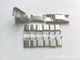 厂家供应不锈钢扎扣 不锈钢钢扣 不锈钢扎带 不锈钢卡扣
