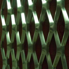 鋁板拉伸網 鋁合金裝飾網 鍍鋅鋁板網