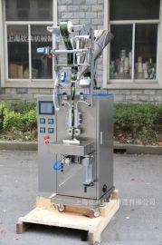 钦典不锈钢背封式长条圆角冲压自动粉末包装机适合益生菌工厂使用