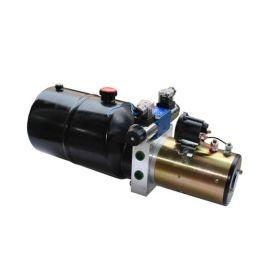 24V1.2KW-3.2泵排量-6L油箱-控制双作用油缸