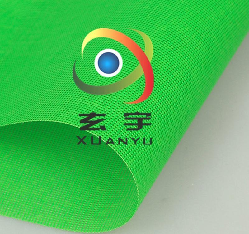 供應出口園林護理圍裙網 PVC浸塑網格布 塗層刀刮網格布