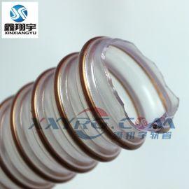 耐磨工业吸尘软管/pu聚氨脂钢丝管/海德堡印刷机耐热通风软管