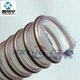 耐磨工業吸塵軟管/pu聚氨脂鋼絲管/海德堡印刷機耐熱通風軟管
