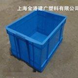 塑料465週轉箱,PE物流箱,塑料藍色週轉箱