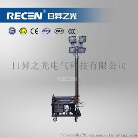 SFW6110B 移动升降工作灯防护等级:IP65