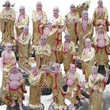祭祀宗教用品 十八羅漢像定製 河南塑像雕塑廠家