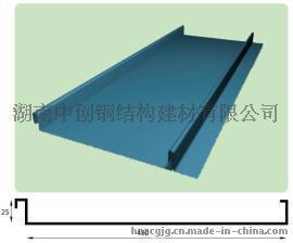 YX25-430矮立边钛锌屋面板底价供应