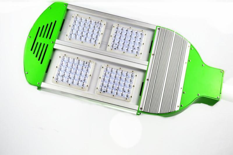 120W压铸路灯外壳 路灯模组 双臂路灯灯杆 led street light 震坤