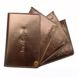 旋转卡包 厂家订做银行卡夹 上海皮具厂FL39