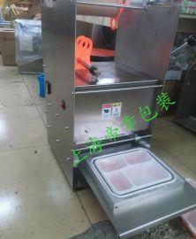 上海手动五格餐盒封口机