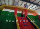 儿童充气城堡|卡通充气大滑梯|广场充气蹦床