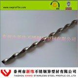 不锈钢麻花钢 304非标定制麻花棒 扭绞方钢--新纬精品