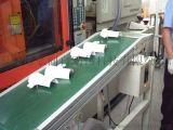 注塑车间流水线 取件手接驳拉 流水线,输送带