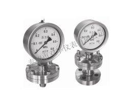 YTFN-100H/MF不锈钢耐震隔膜压力表