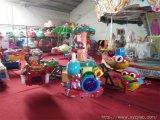廠家直銷大型廣場室內外兒童遊樂設備設施四臂機械飛機 升降飛機