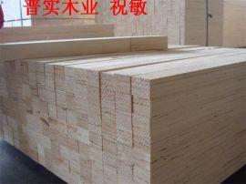 不易劈裂的免熏蒸木方包装木箱 18553475946