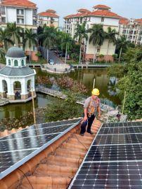 20KW太阳能屋顶分布式并网发电站
