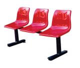 公共等候休闲座椅-绥化驾校学校休息等候玻璃钢排椅