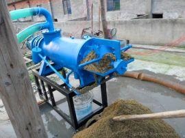 养猪场猪粪处理设备 离心式螺旋挤压猪粪脱水机