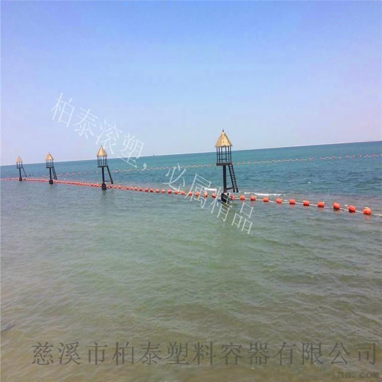 柏泰定製加工異形塑料浮體 滾塑警示塑料浮球