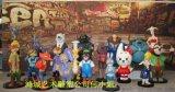 深圳玻璃钢批发、零售疯狂动物城系列卡通雕塑厂家