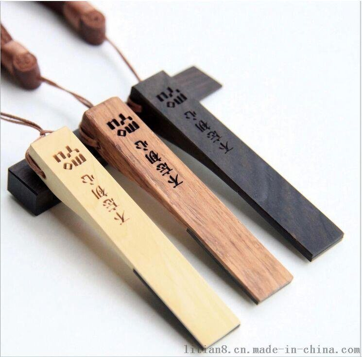 新款創意禮品U盤 木質U盤 皮條u盤廠家