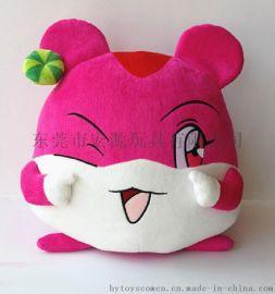 東莞宏源玩具來圖定制毛絨玩具 企業吉祥物 填充玩具