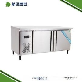 中餐厨房白钢设备|不锈钢厨具工作台|厨房冷藏操作台|厨房保鲜操作台