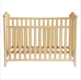 贝安诺环保婴儿床 童床阿瑞斯印尼白木实木0甲醛无漆木蜡油工艺