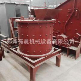 立式制砂机 复合式煤矸石鹅卵石砂石生产线设备 冶金矿渣破碎机