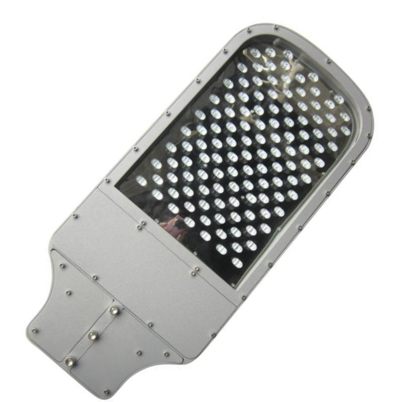 led搓衣板路灯外壳80w100w单颗压铸路灯套件户外照明灯具外壳
