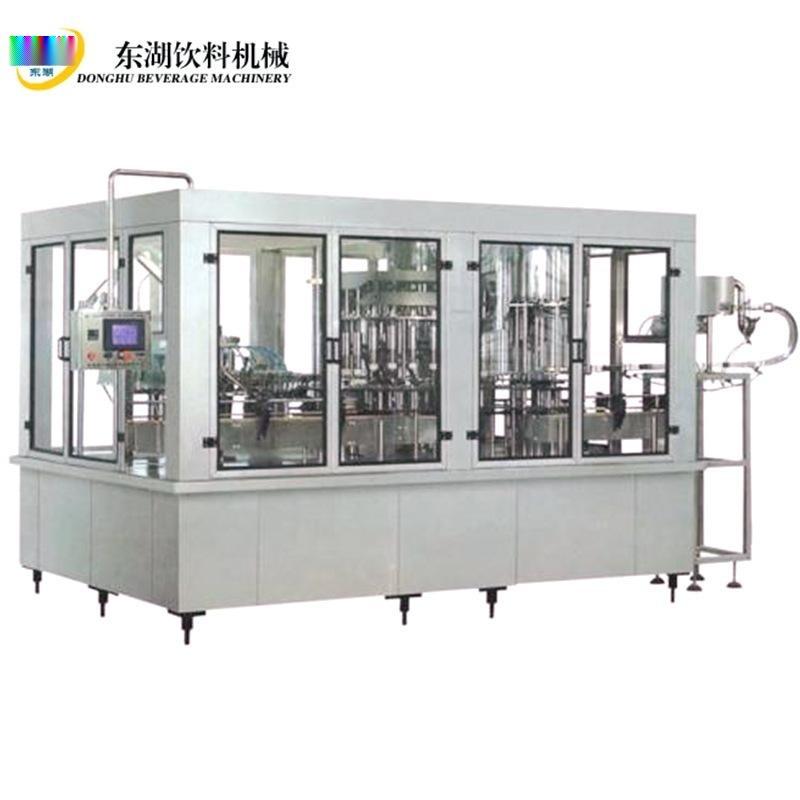 碳酸饮料灌装机 三合一 等压含氣飲料灌裝机 碳酸飲料灌裝生産線