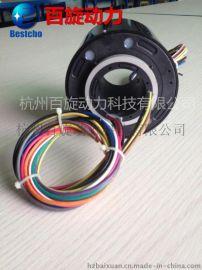 过孔导电滑环、空心轴滑环、 孔径50mm,旋转导电接头,集电环