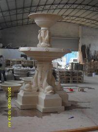 景观流水墙雕塑 欧式砂岩流水喷泉 广东人造石喷泉