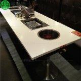 烤肉餐桌 韓式火鍋燒烤兩用桌子 紙上燒烤桌