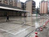 籃球場粉化起沙、硬度不達標用什麼材料處理 價格實惠 效果顯注