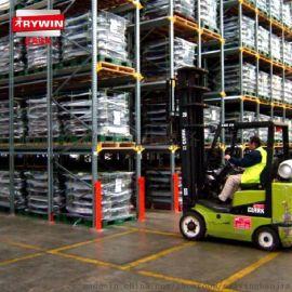 厂家直销仓库重型货架 库房通廊式货架冷轧钢轨道定制置物架批发