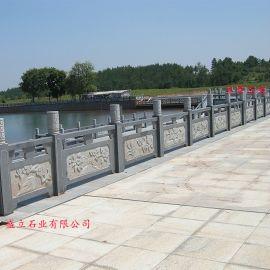 石雕护栏|河边石材护栏|雕花石头护栏板