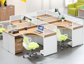 办公桌厂家定做员工桌组合钢架员工桌屏风会议桌