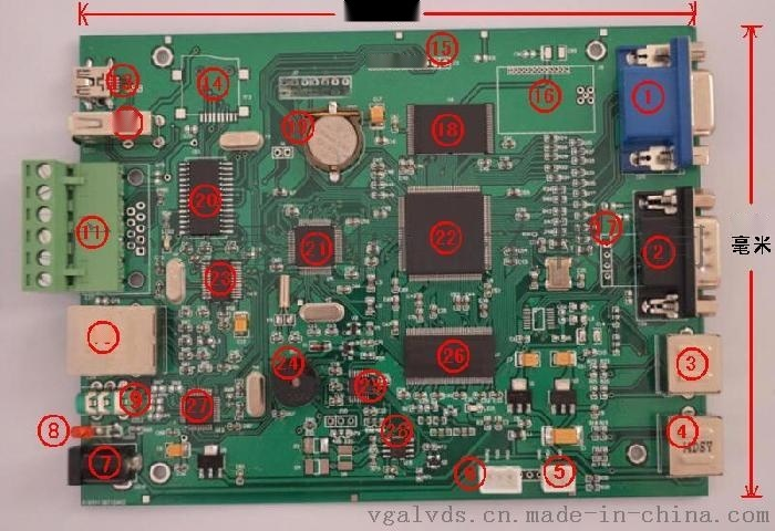 觸摸屏控制器,觸摸屏控制板,單片機觸摸屏控制器,觸摸屏電路板,觸摸屏主板