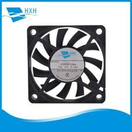 厂家供应6010低耗电低噪音电磁炉制冰机专用12V 24V直流散热风扇
