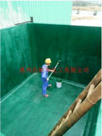 广东惠州祯华乙烯基重防腐池子项目