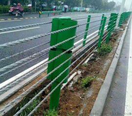 纜索護欄生產廠家@鋼絲繩護欄@公路防撞護欄