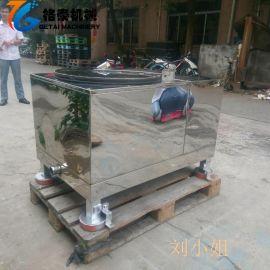 格泰厂家 三足离心脱水机 宾馆床单脱水甩干机 工业不锈钢脱油机