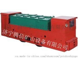 廠家直供8T防爆特殊型蓄電池電機車(雙司室)