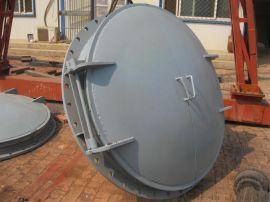 弘鑫水利 污水处理设备  河道钢制拍门